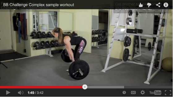Complex Weight Training